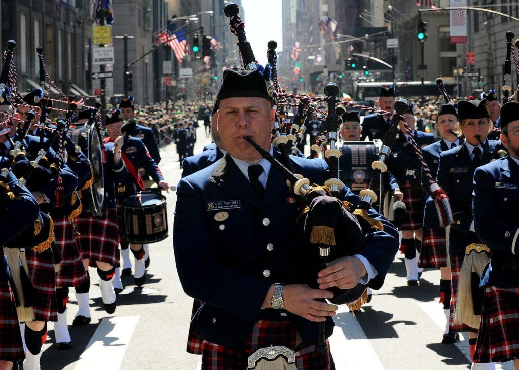 st. patrick's day dublim parade