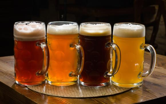 Food_Drinks_Four_types_of_beer_032613_