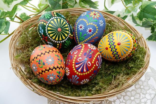 Celebrating easter around the world partnership international the custom of the easter egg may have existed in the early christian community of mesopotamia who stained eggs red in memory of the blood of christ negle Choice Image