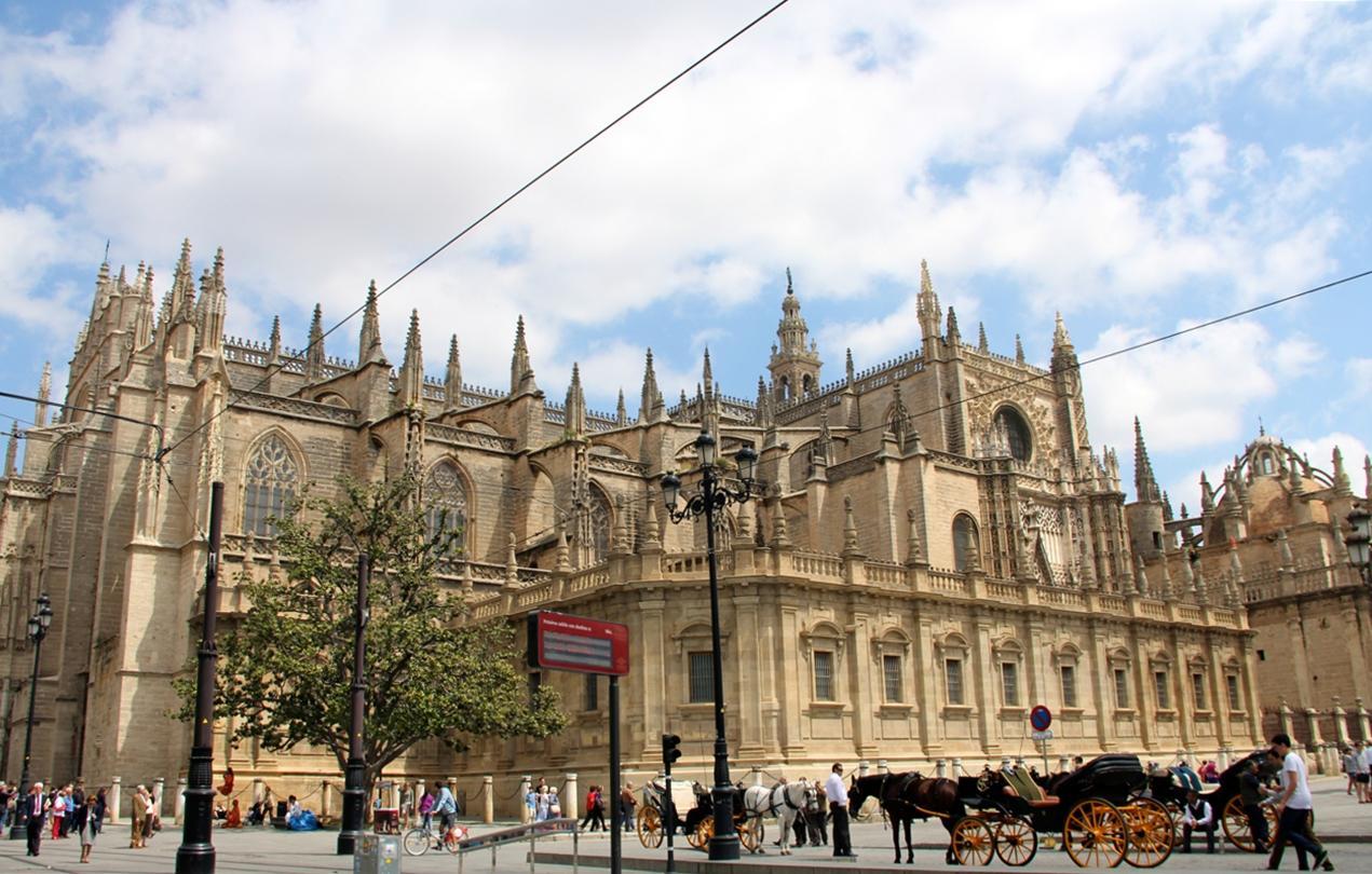 5 must see places in seville partnership international - Orange en sevilla ...