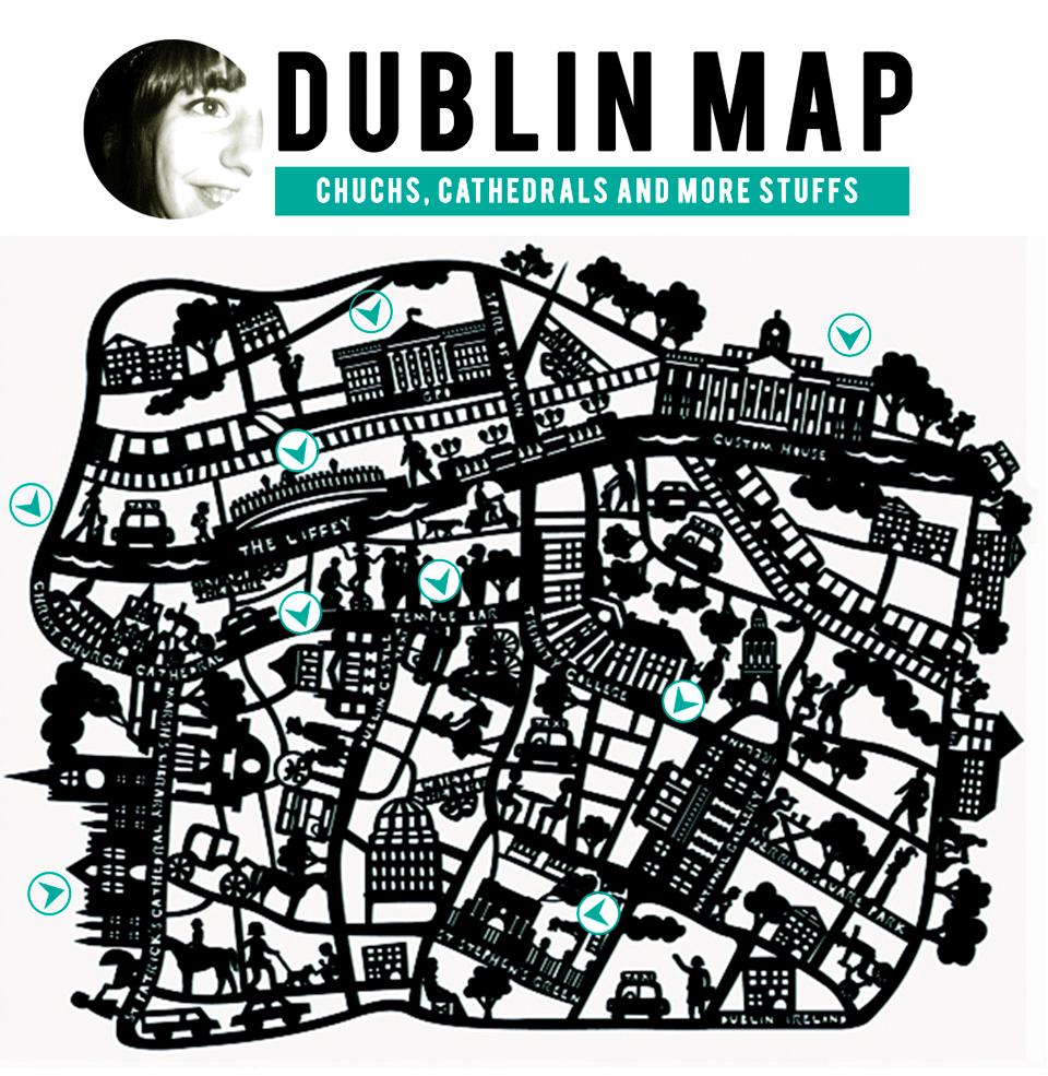 free Dublin-map