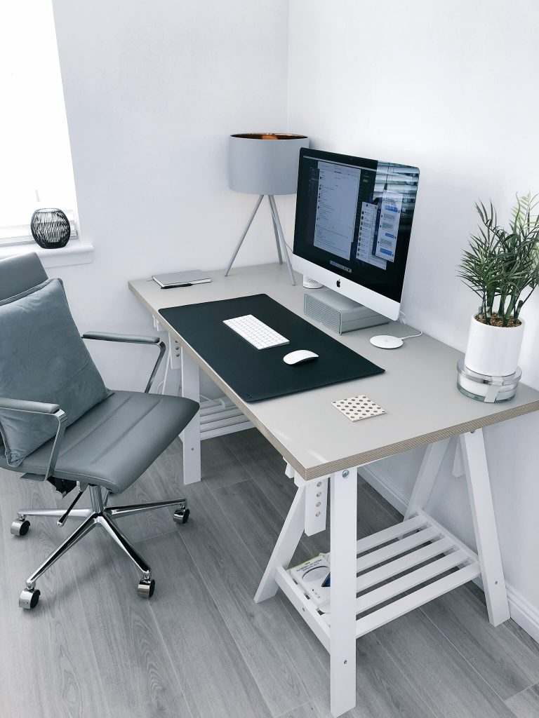 How to create the perfect home office bright room